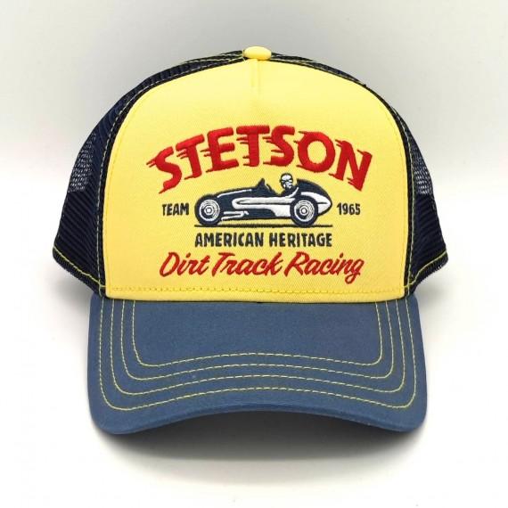 Stetson Trucker Cap Dirt Truck Racing